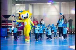 Colégio Salesiano em clima de Olimpíadas na Educação Infantil!