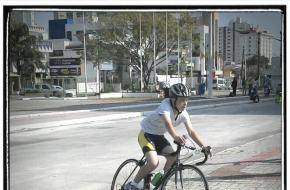 Guilherme Barroso na prova de ciclismo - JEI 2013