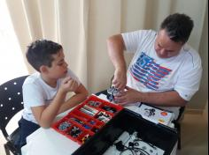 Robótica – Dia da família na escola!