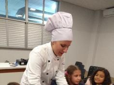 Culinária no 3º ano E