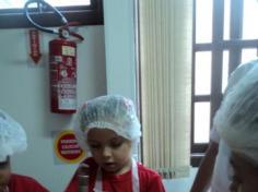 Mamãe faz culinária no Grupo Golfinho